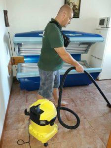 Апартамент цялостно почистване в кв.Тракия