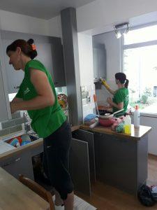Основно почистване на кухня в района на широкия център на Пловдив