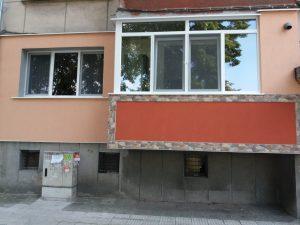 Прозорци след професионално почистване - бул. Марица, Пловдив