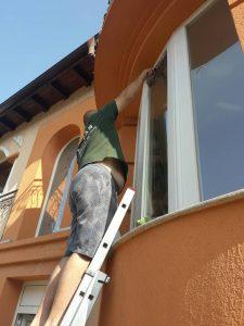 Външно почистване на дограма и стъкла, Марково