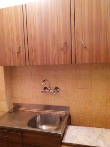 След почистване на кухненски бокс.