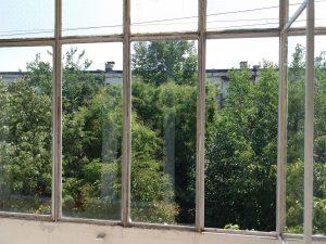 Почистено винкелно остъкление - ул. Петрова нива, кв. Кичука