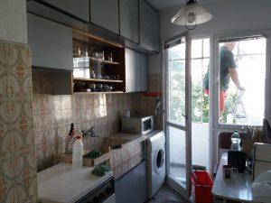 Почистване на тераса, остъкление, кухня - ул. Петрова нива, Кичука, Пловдив