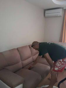 Пране на плюшен диван