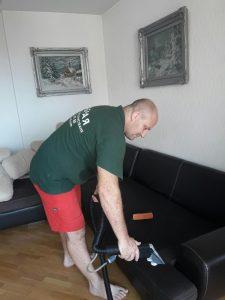 Пране на диван в кв. Кършияка в Пловдив