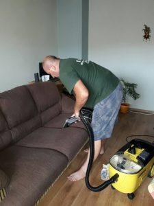 Пране на диван в гр. Сопот