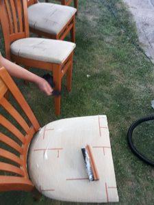 Пране на тапицирани столове в с. Цалапица