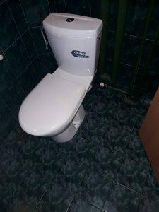 Почистена тоалетна на бул. България в Пловдив.