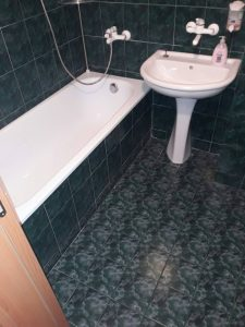 Почистена баня на бул. България.