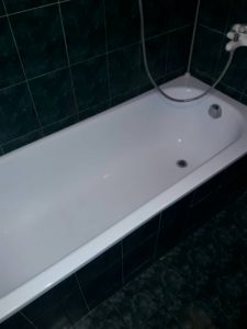 Почистена вана на бул. България.