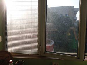 Силно замърсени прозорци.