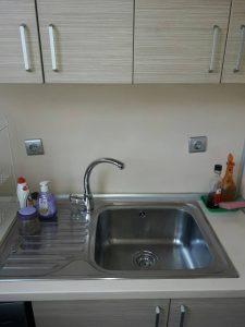 Кухненска мивка - почистена.