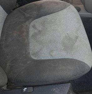 Фиат - седалките преди машинно изпиране.