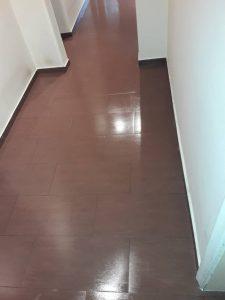 Почистен и полиран под .