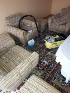 Мека мебел за машинно изпиране.