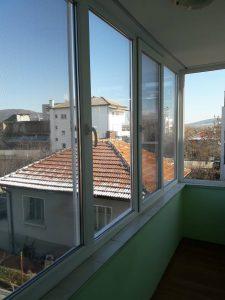 Прозорци - почистени (дограма и стъкла).