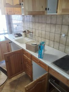 Кухня преди почистване.