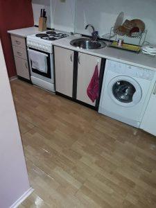 Кухня - чиста.