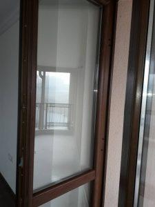 Врата на тераса - почистена, в Белащица.