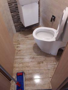 Почистена  WC на ул. Богдан в Пловдив.