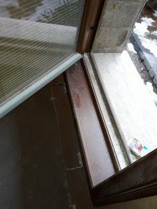 Прозорец и перваз - след ремонт.