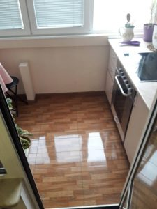 Абонаментно почистена кухня.