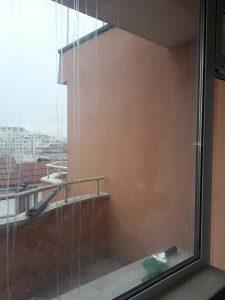 Прозорец - замърсен.