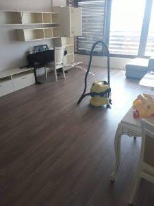 Основно почистване на апартамент в Пловдив.