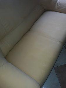 Машинно изпрани диван.
