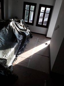 Къща след ремонт.