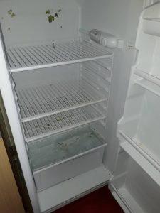Занемарен хладилник.
