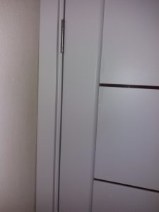 Почистена врата.