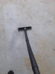 Строителен прах по под.