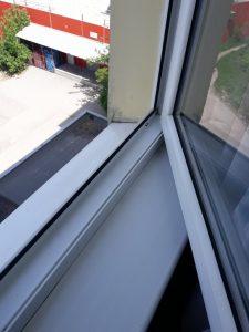 Почистен прозорец.
