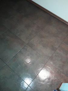 Почистен под.