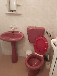 Почистена баня.