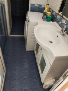 Почистена мивка в баня.
