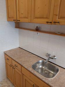 Почистено кухненско.