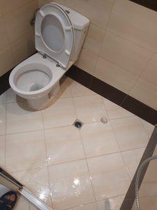 Почистена баня със санитарен възел.