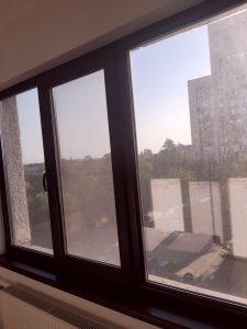 Замърсен прозорец.
