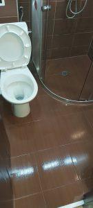 Почистена тоалетна.