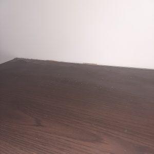 Запрашена горна повърхност на рафт.