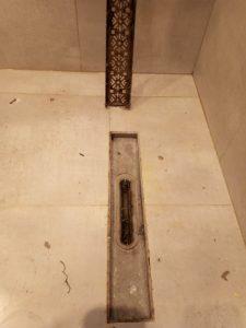 Замъ.сен под на баня.