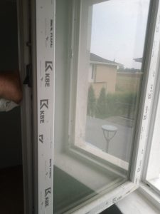 Мръсен прозорец.